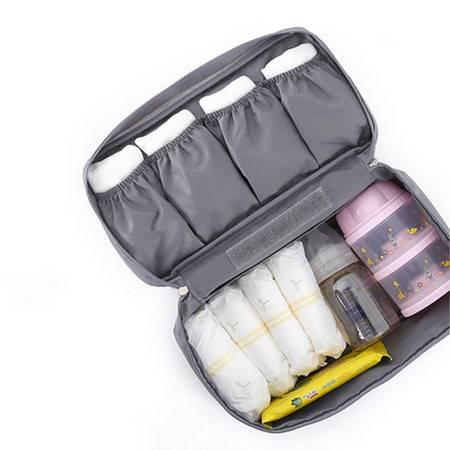 普润 Monopoly旅行多功能内衣收纳包 旅行包 便携洗漱包 灰色