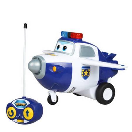 普润 双钻超级飞侠 儿童玩具男孩益智遥控滑行飞机-包警长 710750
