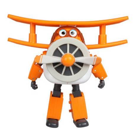 普润 双钻超级飞侠 儿童玩具男孩益智变形机器人-胡须爷爷 710260