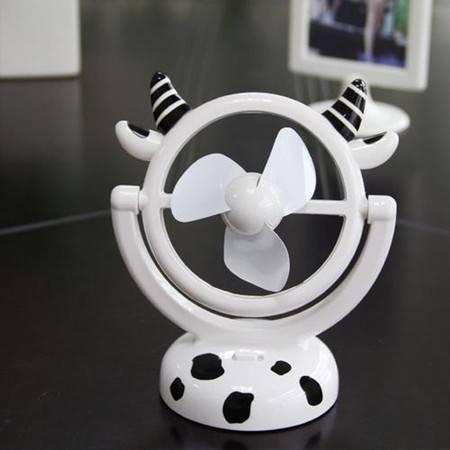 普润 卡通镜子形USB风扇(福牛)