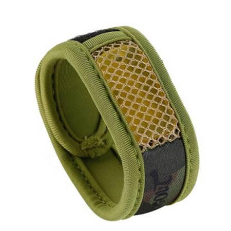 普润 魔术腕带款带替换模块驱蚊手环 防蚊圈 军绿迷彩