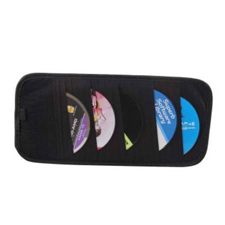 普润 18片装汽车遮阳板CD夹/带笔遮阳CD夹 遮阳板CD夹