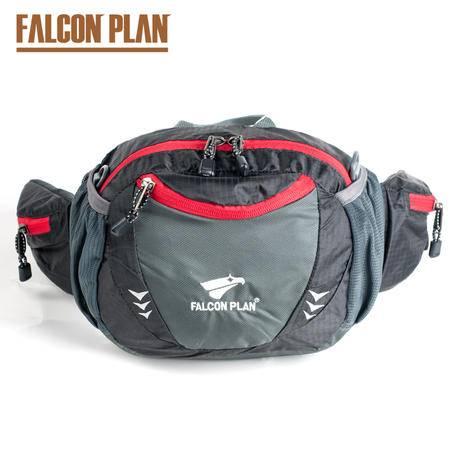 猎鹰计划 男女户外多功能腰包防水 休闲时尚登山腰包骑行腰包挎包