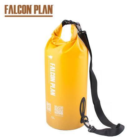 猎鹰计划 野外洗簌饮水装水容器可单肩背负水袋 携带方便防漏水 户外大容量装水袋12L