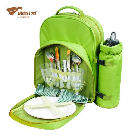 猎鹰计划 户外野餐包带餐具