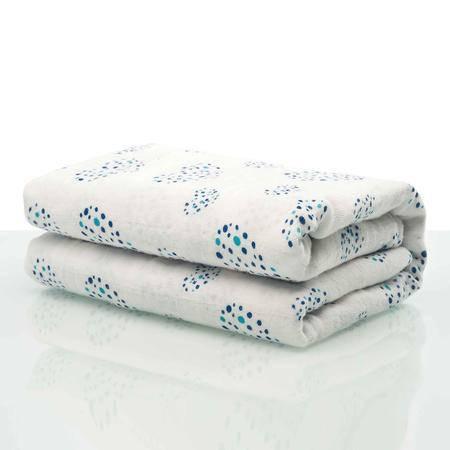 好孩子(gb)婴儿抱被新生儿多功能纯棉包被宝宝浴巾儿童毛巾吸水纱布大包巾盖毯