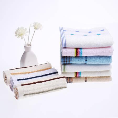 孚日家纺 纯棉毛巾9条装大礼包 全棉毛巾方巾家庭装 一件包邮