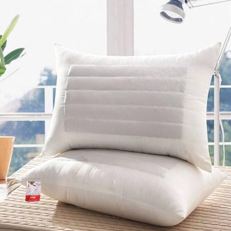 华智家纺 纯棉荞麦壳纤维保健枕