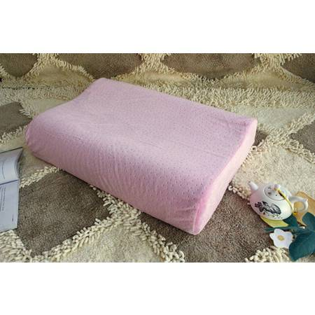 华智家纺 波浪形太空记忆枕头 保健睡眠枕芯颈椎枕安神单人护颈枕头
