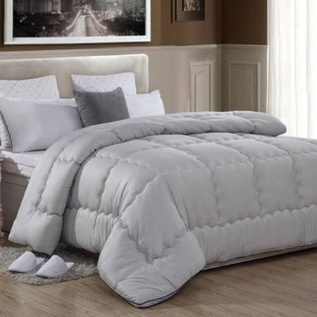华智 被子 冬被 双人加厚 竹炭纤维被 床上用品