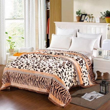 华智 午睡毯巴黎绒盖毯 220*230cm 床上用品