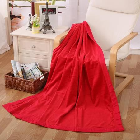 凯诗风尚 简约超柔短毛绒毯 办公毯 沙发毯 小孩包毯 床单150*200