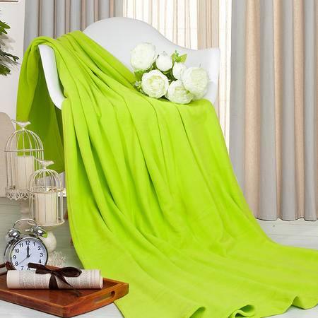 凯诗风尚 简约纯色毯 办公毯 汽车毯 午睡毯 床单 150*200