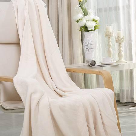 凯诗风尚 珊瑚绒毯 空调毯 办公毯 汽车毯 保暖床单 儿童抱毯150*200