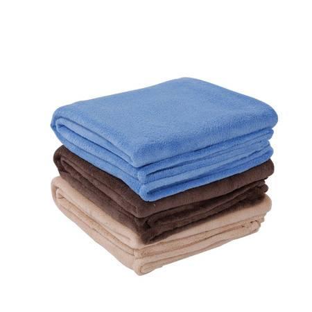 凯诗风尚 珊瑚绒毯 办公毯 午睡毯 小孩抱毯 100*120 颜色随机