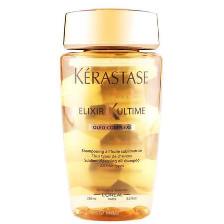 卡诗菁纯润泽洗发水250ml 神仙金油洗发露 滋润修护清洁强韧发质