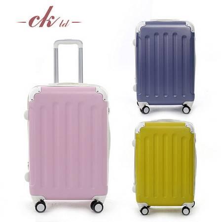 乔顺达 新款拉杆箱行李箱万向轮旅行密码箱子 镜面PC20寸 QSD010