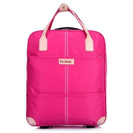 爱芙莱妮 竖款尼龙防水大容量拉杆包品牌旅行箱旅行包 999