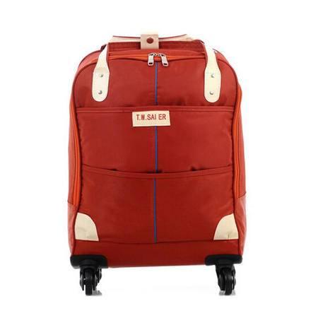 爱芙莱妮 学生万向轮拉杆箱旅行箱行李包锦纶小清新旅行包20寸 666
