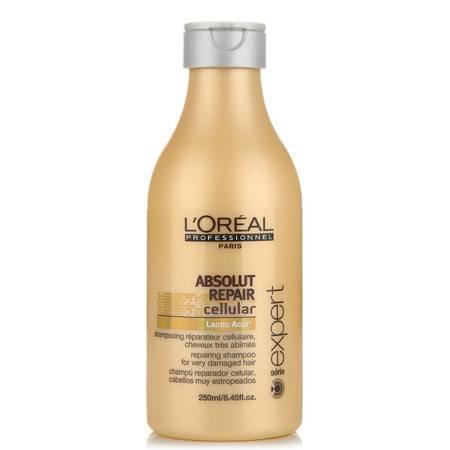 进口 欧莱雅致臻修护洗发水250ml 滋润修护烫染受损发质正品