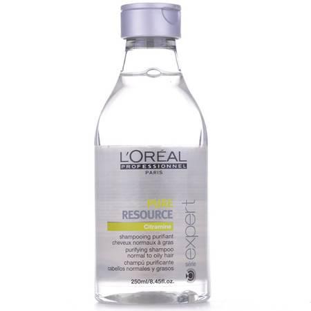 正品欧莱雅油脂平衡洗发水250ml 深层清洁清爽去油控油平衡洗发水