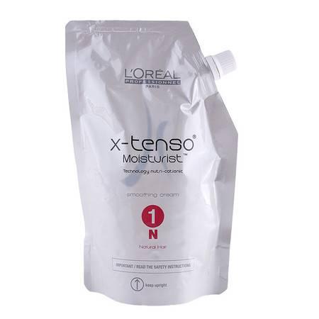 欧莱雅探索水润烫发膏400ML 热烫拉直膏 烫卷软化剂 自然发质