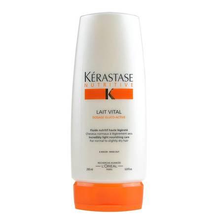 KERASTASE卡诗蛋白护发露200ml 修复滋养受损头发 蛋白护发素包邮