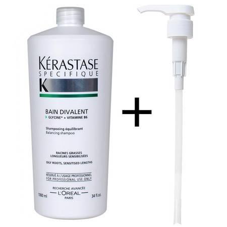 卡诗双重功能洗发水1000ML油性头皮干性头发舒缓头皮滋养头发包邮