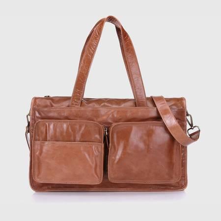 名仕MS 男包出差行李包 欧美潮大容量旅行必备手提单肩包 MS8031