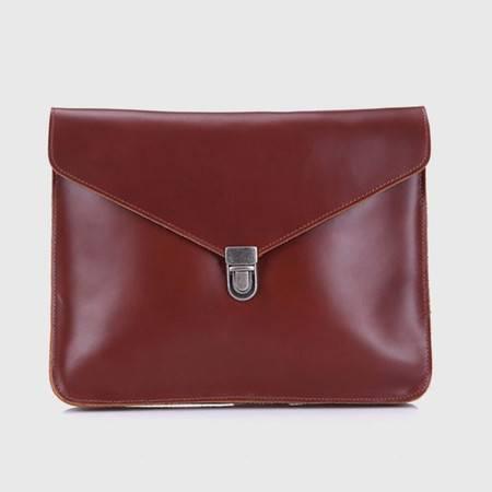 名仕MS 真皮ipad手拿包 商务办公男女手包 mini信封包 MS8061