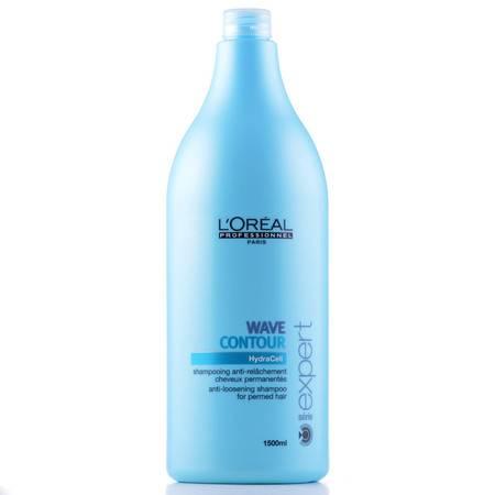 正品进口欧莱雅盈致幻卷洗发水1500ML烫后护卷护理卷发洗发水