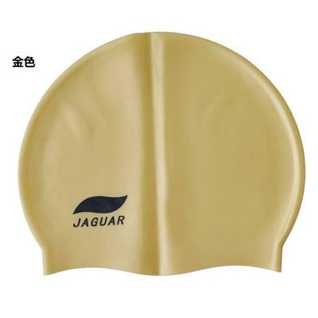 捷佳 硅胶泳帽单色100%硅胶帽 单色泳帽 51845