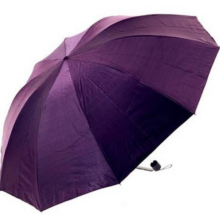 天堂伞 超大双人0透光超强防紫外线伞 纯色遮阳雨伞 33146E