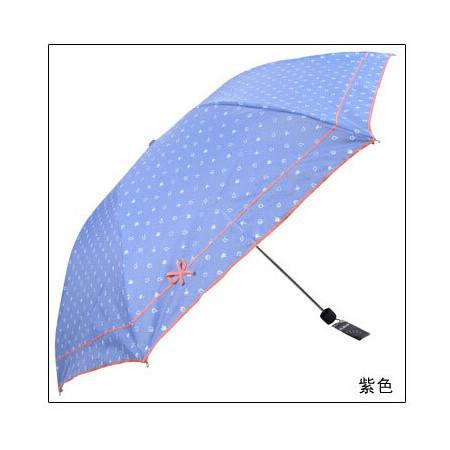 天堂伞 知性达人 银胶防晒 太阳伞 遮阳伞铅笔伞  3336e