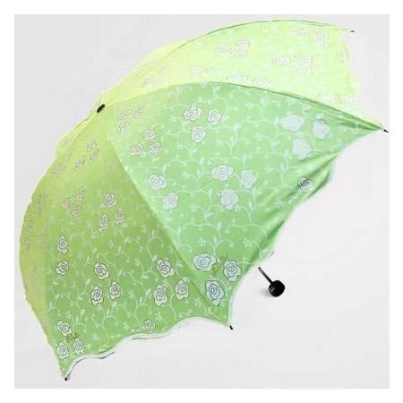 天堂伞 黑胶折叠防紫外线太阳伞超强防晒户外遮阳伞晴雨伞 33186