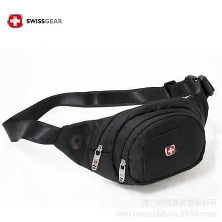 瑞士威戈 多功能运动骑行腰包 单肩斜跨腰跨包时尚休闲包 0210