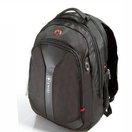 瑞士威戈 时尚休闲护脊双肩电脑包 防水旅行包 双肩包