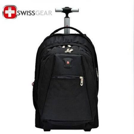 瑞士威戈 双肩包 多功能旅行拉杆包 17寸拉杆箱可拉可背 092806