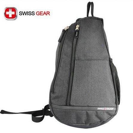 瑞士威戈 SWISSGEAR单肩斜挎包 水滴包 三角包 0900