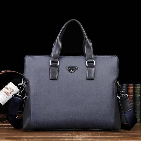 威科特瑞 pvc男包横款手提单肩斜挎包商务休闲包(不含手包)8008