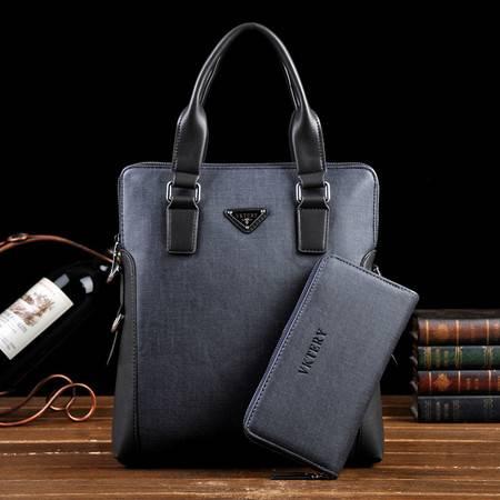 威科特瑞 男包斜跨休闲包 男式包包 竖款手提包(不含手包) 8008