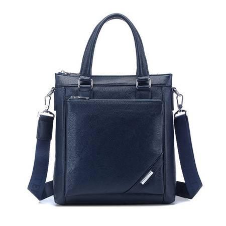 威科特瑞 新款 简约男士手提包 竖款单肩包潮包 9918-1