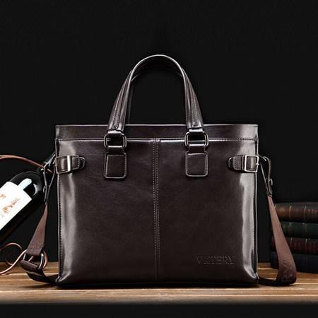 威科特瑞 男包手提包商务包经典时尚公文包潮男士包包 8855