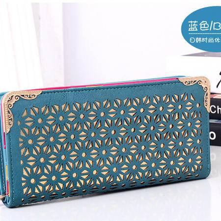 卡希洛 新款韩版女式钱包 镂空长款时尚女士钱包卡包 0603