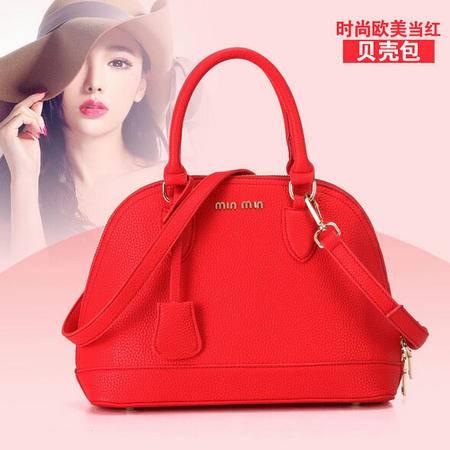 卡希洛 新款时尚高档欧美手提贝壳包定型包 女士包包 6999
