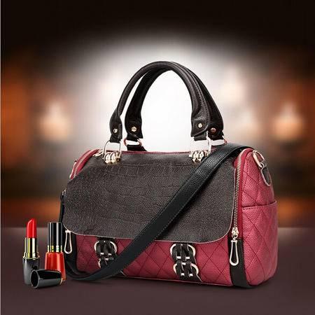 卡希洛 新款真皮女包手提包 宴会高档次包包女士单肩斜挎包 QZM-1121-058