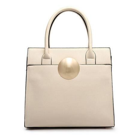 卡希洛 女包 新款欧美潮流单肩包手提牛皮包品牌女包 wf圆五金包