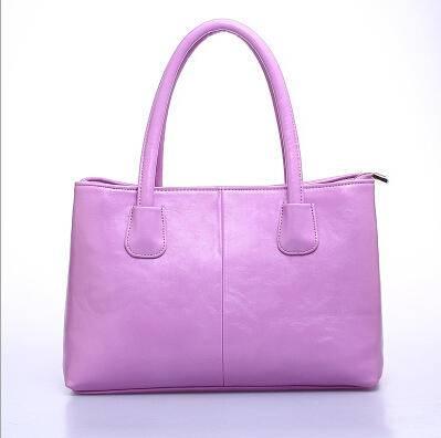 卡希洛 简单时尚真皮女包手提包通勤韩版包包经典女包 YX-001