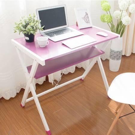 禾一木语 台式家用电脑桌简约书桌 一体机笔记本电脑桌 X型桌
