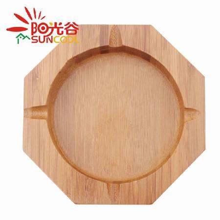 阳光谷 楠竹装饰烟灰缸 创意竹子装饰器皿 特色工艺礼品烟缸 YZJY1333